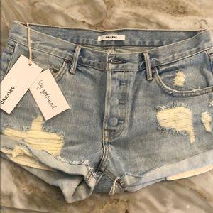 NWT GRLFRND shorts size 25